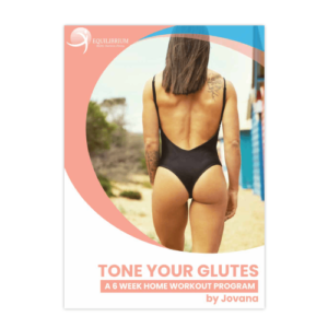 6 Weeks home glute training program